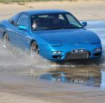 May 2 - Skid Pan - Blue 180